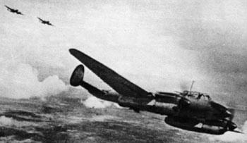 Самолет ПЕ-2.